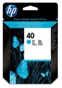 51640CE Картридж HP №40 Deskjet 1200C/DJ1600C Cyan (o) 42m